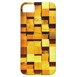 Wooden Blocks Pattern iPhone 5 Case