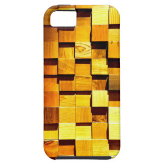 Wooden Blocks Pattern iPhone 5 Cases