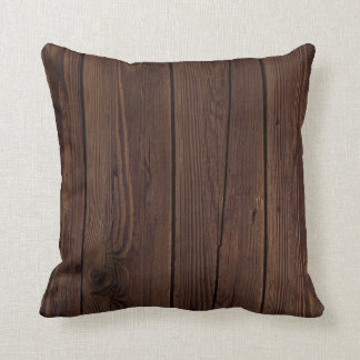 Wooden Boards Pillow