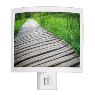 Wooden Boardwalk Hiking Trail Nite Lites
