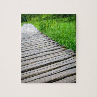 Wooden Boardwalk Hiking Trail Puzzle