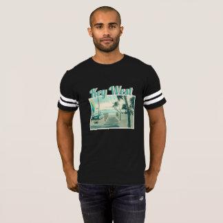 Wooden Boardwalk onto Smathers Beach, Key West FL T-Shirt
