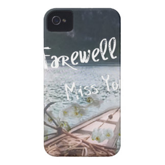 wooden boat  miss you.PNG iPhone 4 Case-Mate Case
