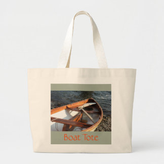 Wooden Boat Tote Bag