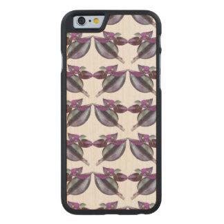 Wooden bumper iPhone SE/5/5S case - Flower Power