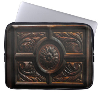Wooden Carving Laptop Sleeves