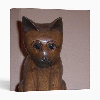 Wooden Cat Binders