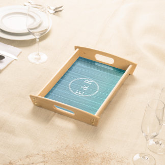 Wooden Cladding Serving Trays