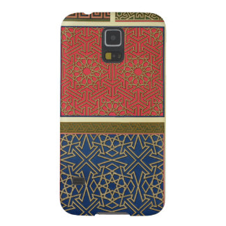 Wooden compartments and borders, from 'Arab Art as Cases For Galaxy S5
