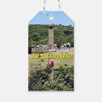 Wooden cross, El Camino, Spain Gift Tags
