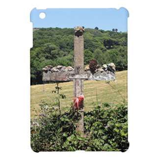Wooden cross, El Camino, Spain iPad Mini Covers