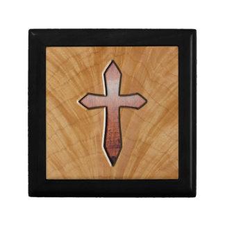 Wooden Cross Gift Box