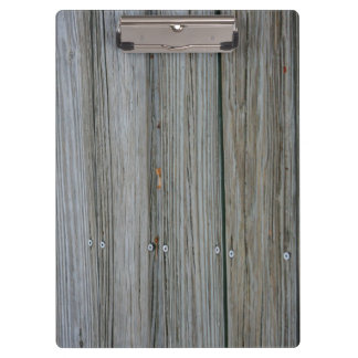wooden dock planks with screws clipboard