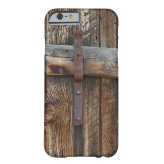 Wooden door close-up, California Barely There iPhone 6 Case