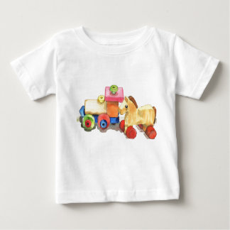 Wooden friends baby T-Shirt