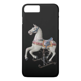 Wooden Horse Antique Carousel - Iphone Case