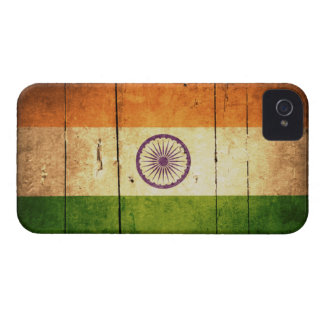 Wooden Indian Flag iPhone 4 Cover