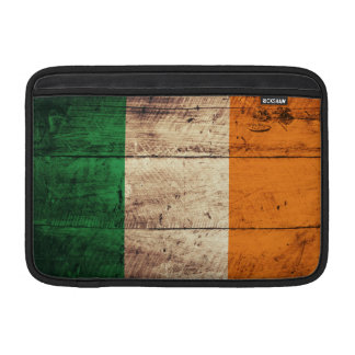 Wooden Ireland Flag MacBook Sleeves