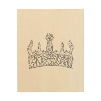 Wooden Kingly Poster