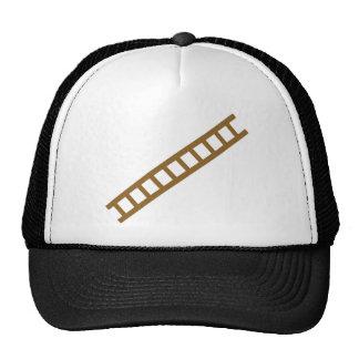 wooden ladder hats