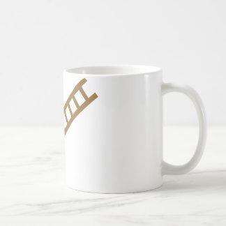 wooden ladder mug