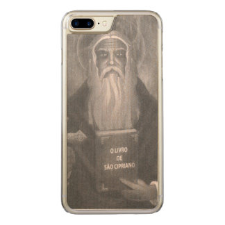 "Wooden layer for iPhone 8 Plus ""Is Cipriano "" Carved iPhone 8 Plus/7 Plus Case"