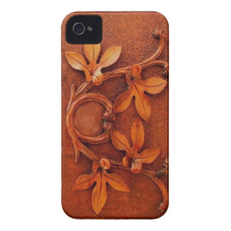 wooden leaves iphone iPhone 4 Case-Mate cases