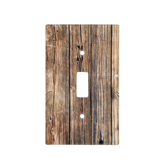 Wooden Light Switch Cover