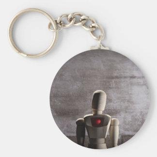 Wooden mannequin prototype of human keychain