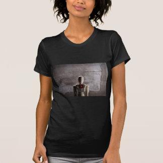 Wooden mannequin prototype of human T-Shirt