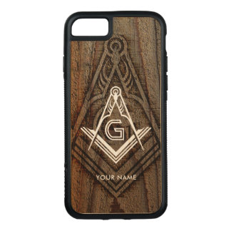Wooden Masonic Phone Case | Freemason Gift Ideas