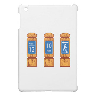Wooden Mile Marker Signs Retro iPad Mini Cover