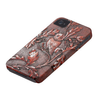 wooden owl iphone Case-Mate iPhone 4 case
