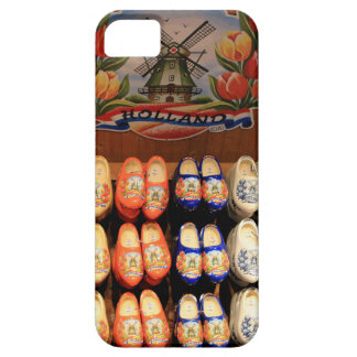 Wooden painted clogs, Holland 2 Case For The iPhone 5