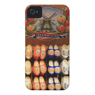 Wooden painted clogs, Holland 2 Case-Mate iPhone 4 Case