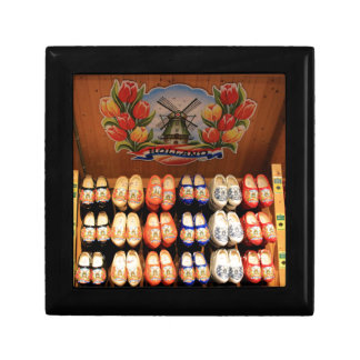 Wooden painted clogs, Holland 2 Gift Box