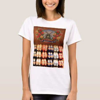 Wooden painted clogs, Holland 2 T-Shirt
