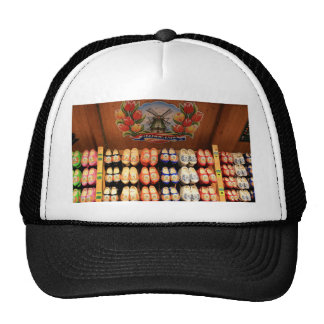 Wooden painted clogs, Holland 2 Trucker Hat