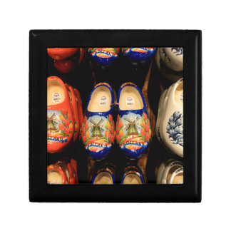 Wooden painted clogs, Holland Gift Box
