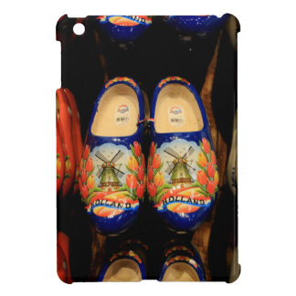 Wooden painted clogs, Holland iPad Mini Cover