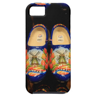 Wooden painted clogs, Holland iPhone 5 Case
