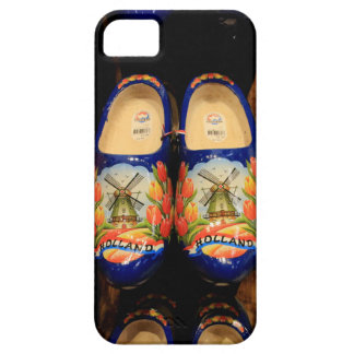 Wooden painted clogs, Holland iPhone 5 Covers