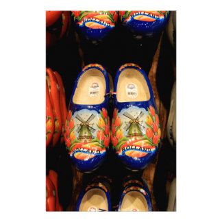 Wooden painted clogs, Holland Stationery