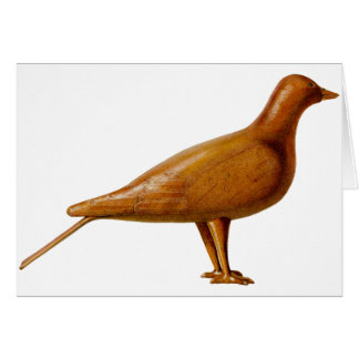 Wooden Pigeon Card