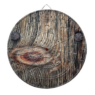 Wooden Plank Photo Dartboard