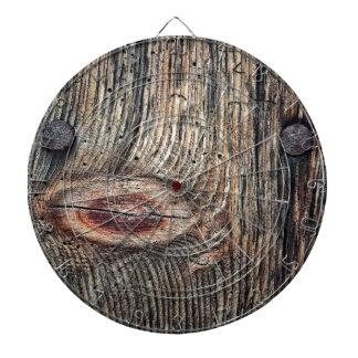 Wooden Plank Photo Dartboard