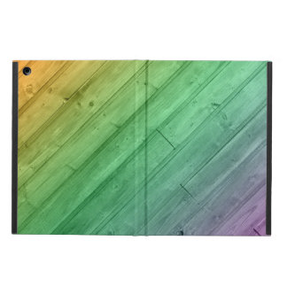 Wooden Rainbow iPad air case