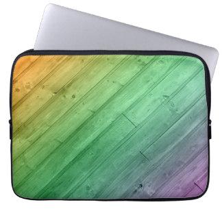 Wooden Rainbow laptop Sleeve