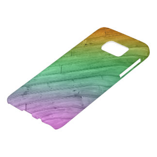 Wooden Rainbow Samsung case