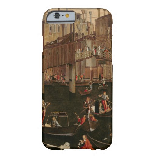 Wooden Rialto Bridge, from the Miracle of the Reli iPhone 6 Case